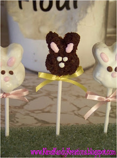 Easter Bunny Brownie Bites by Kandy Kreations