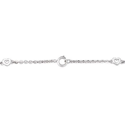 Lắc tay bạc đính đá PNJSilver XMXMK000033