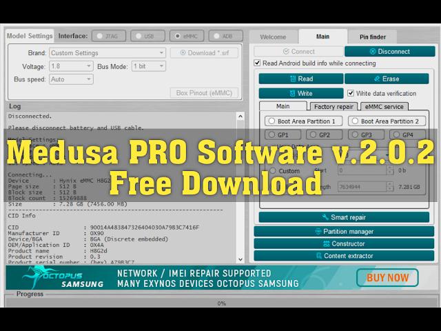 Download Medusa PRO Software v2.0.2 Latest Version [2020]