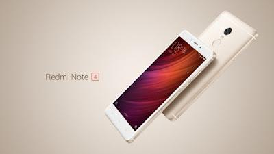 Harga Xiaomi Redmi Note 4 berbekal  processor Deca-Core (10 core) Helio X20