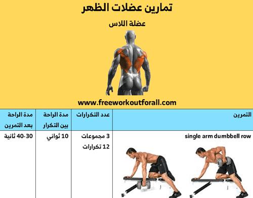 تمارين عضلة الاس
