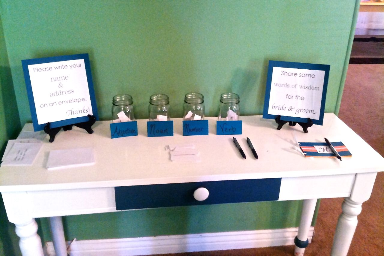 A Song of Sixpence Bridal Shower Fun