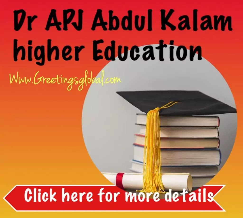 APJ Abdul kalam higher Education
