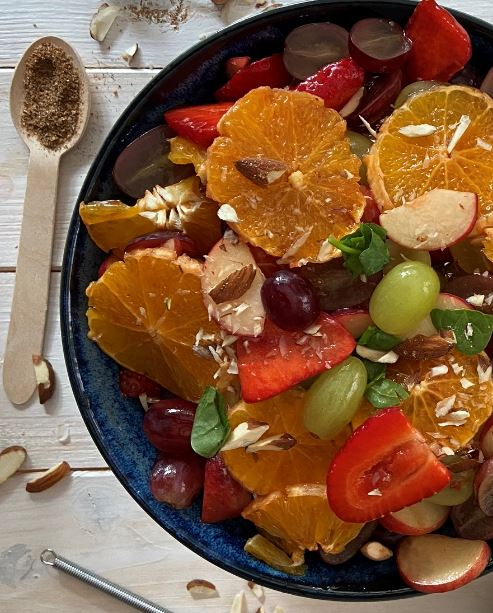 Middle Eastern Spicy Fruit Salad
