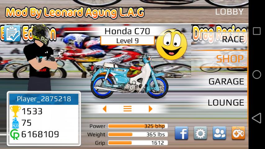 Drag Racing Bike Edition Apk Mod Indonesia By Leonard Agung Zeo Famous