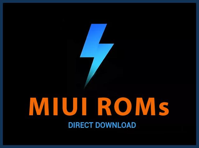 روابط تحميل رومات و تحديثات هواتف شياومي Xiaomi