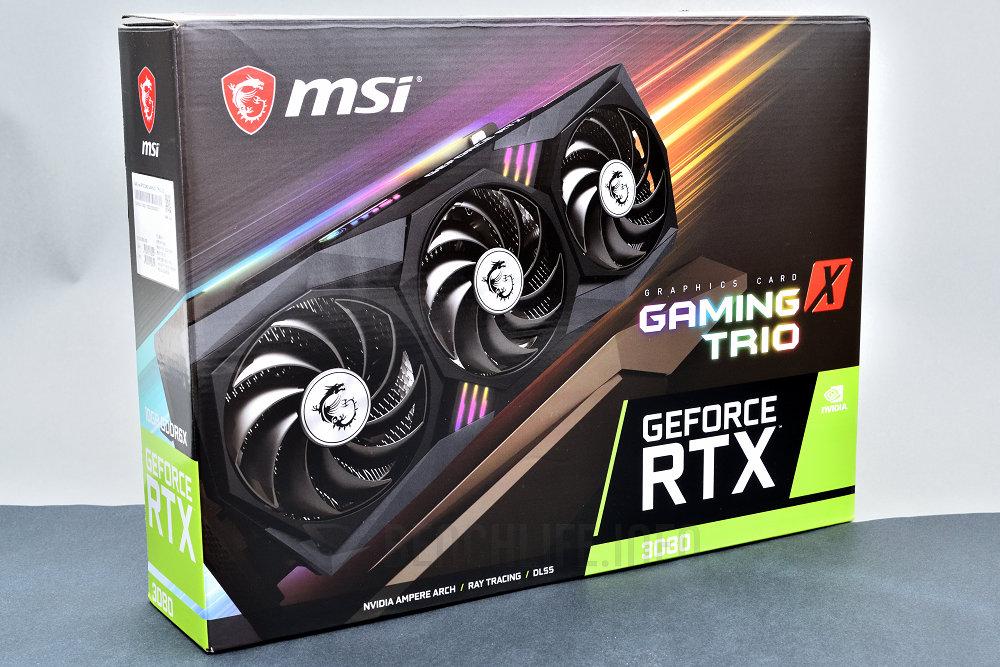 مراجعة البطاقة kMSI GeForce RTX 3080 GMING X TRIO