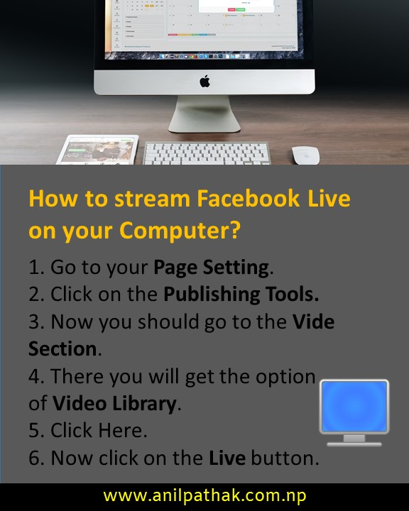 How to stream Facebook Live on your computer?