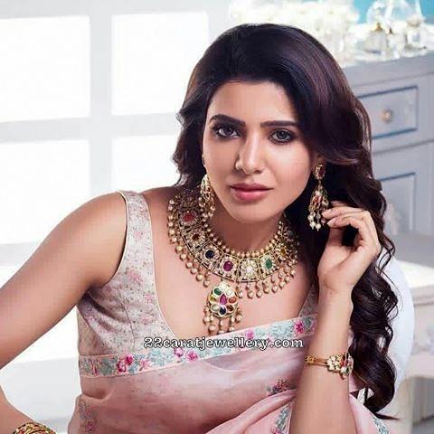 Samantha Navaratan Kundan Choker