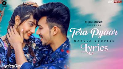 Tera Pyaar Lyrics - Afsana Khan, Jot Dhindsa & Gur-v