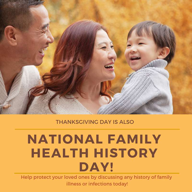 National Family Health History Day Wishes Pics