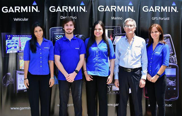 Skytec celebra el vigésimo aniversario de Garmin en Ecuador