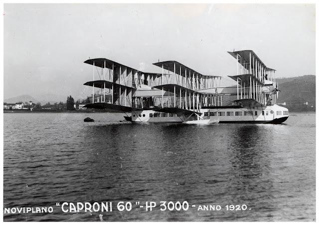 """Noviplano """"Caproni Ca.60"""" - HO 3000 - Anno 1920"""