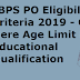 IBPS PO Eligibility Criteria 2019 - Check Here Age Limit & Educational Qualification