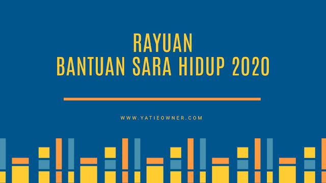 Rayuan BSH 2020 - Rayuan Bantuan Sara Hidup Bagi Tahun 2020