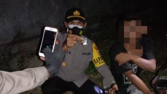 Polsek Palu Utara Amankan 2 Pemuja Narkoba, Salah Satunya Oknum Mahasiswa Kesehatan di Palu