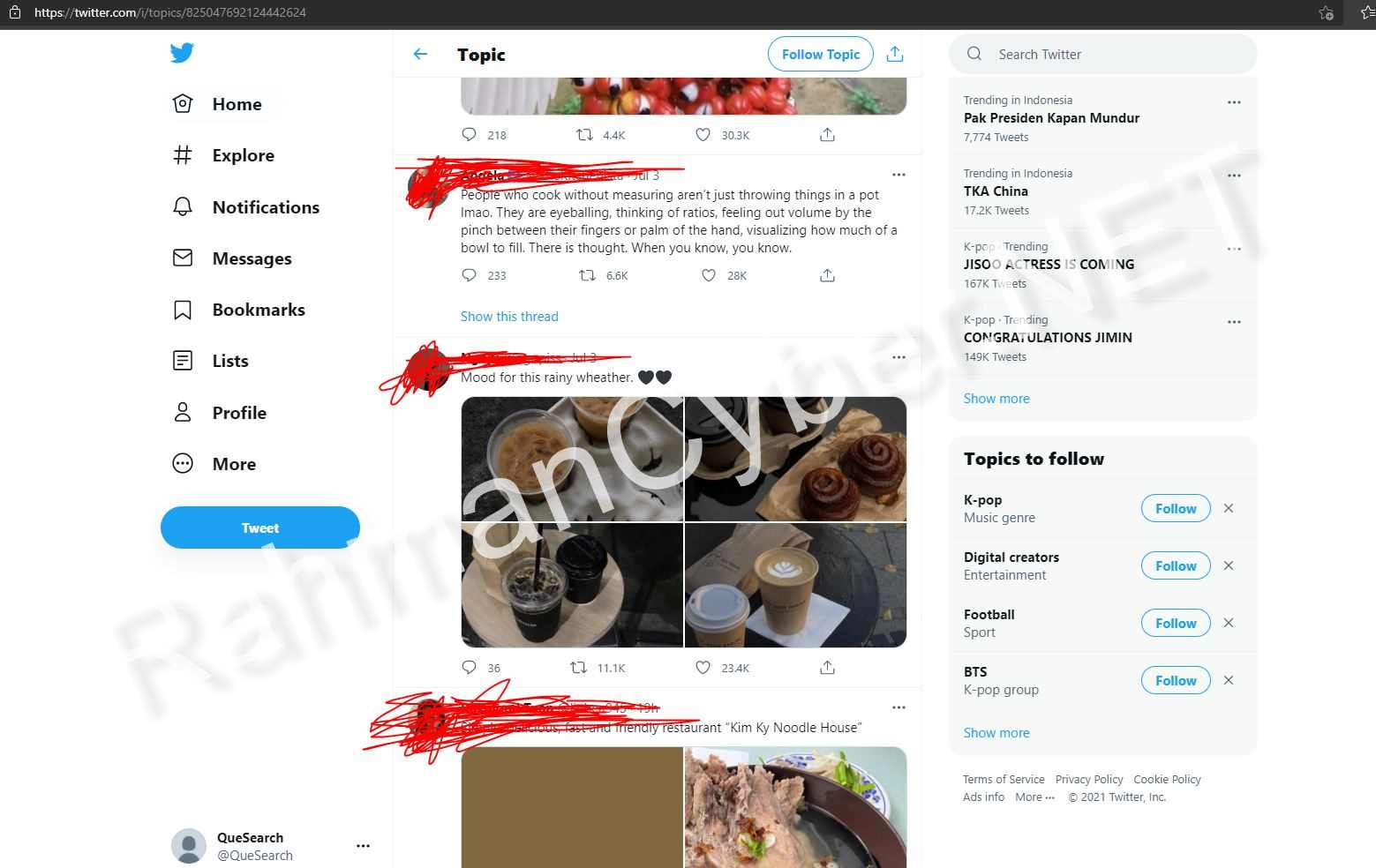 Twitter di Suspend tapi masih bisa digunakan untuk menjelajah