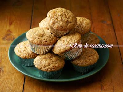 Muffins de amendoim
