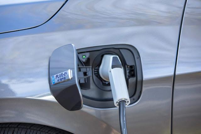 Charging port of 2018 Honda Clarity Plug-In