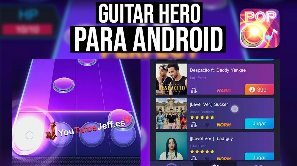 Disfruta de un Guitar Hero en tu Android, Descargar TapTap Music