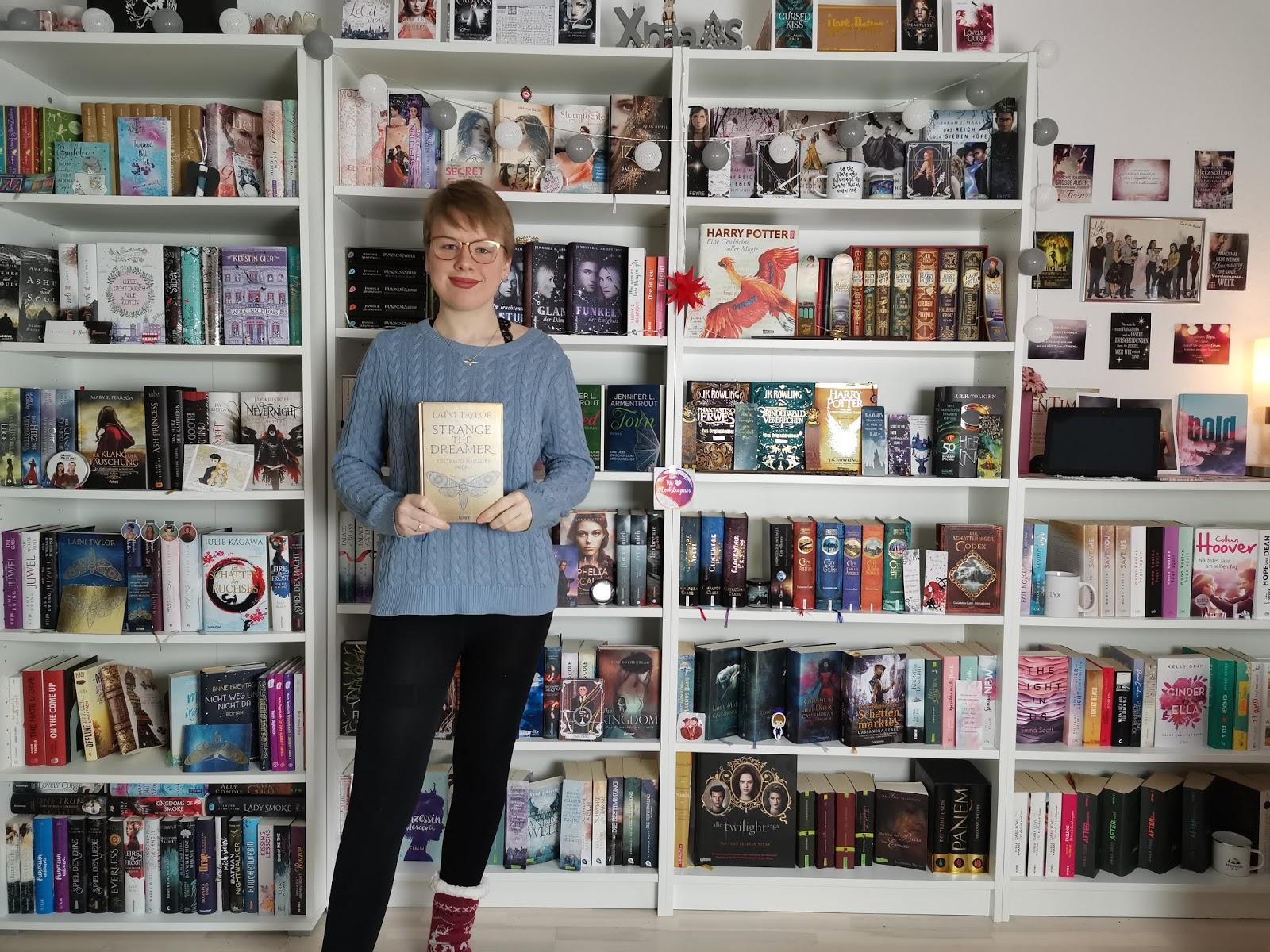 {Rezension} Strange the Dreamer - Ein Traum von Liebe: Buch 2 | Laini Taylor | Werbung