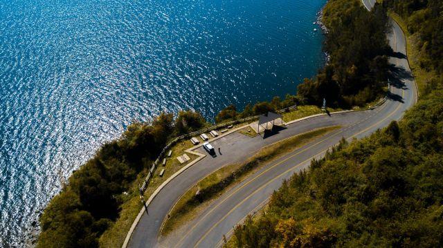 Mirador en Lago Calafquen