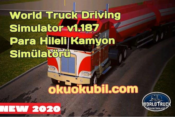 World Truck Driving Simulator v1.187 Para Hileli Kamyon Simülatörü Mod Apk İndir 2020