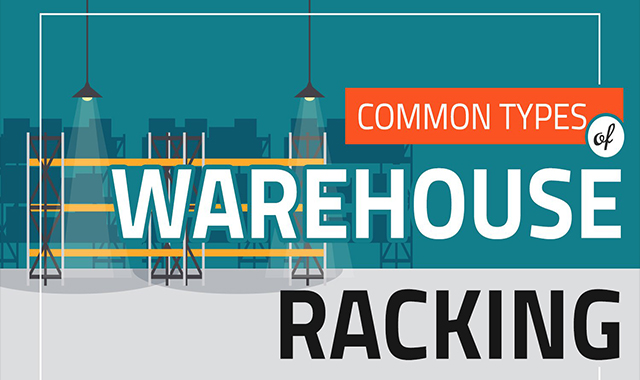 How to Identify Various Pallet Rack Types #infographic