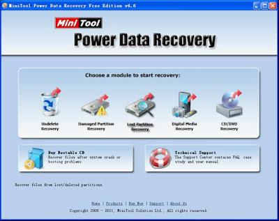 تحميل برنامج استرجاع الملفات المحذوفة من الهارد Data Partition Recovery 2017