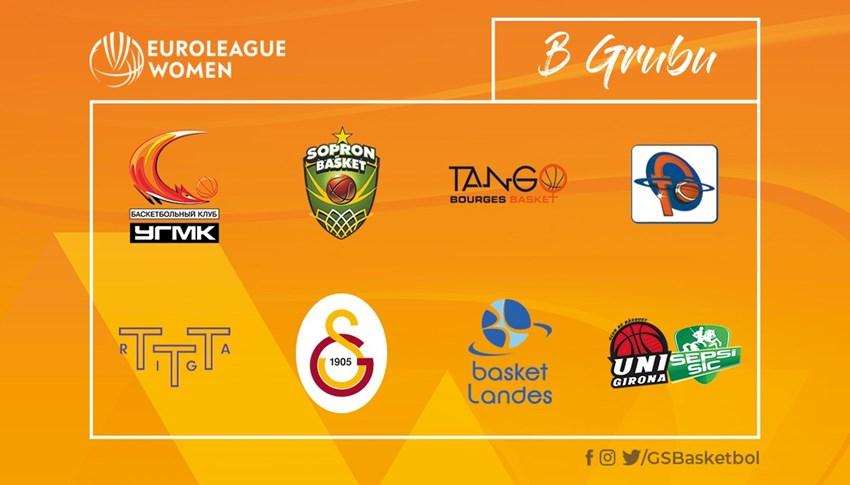 Galatasaray'ın EuroLeague Women'daki rakipleri belli oldu!
