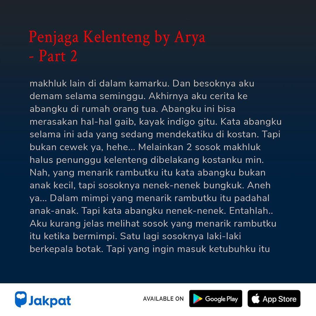Kisah Misteri Penjaga Kelenteng by Arya Part 2
