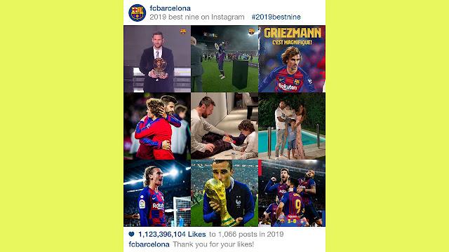 Membuat #2019BestNine 9 Foto Terbaik Instagram