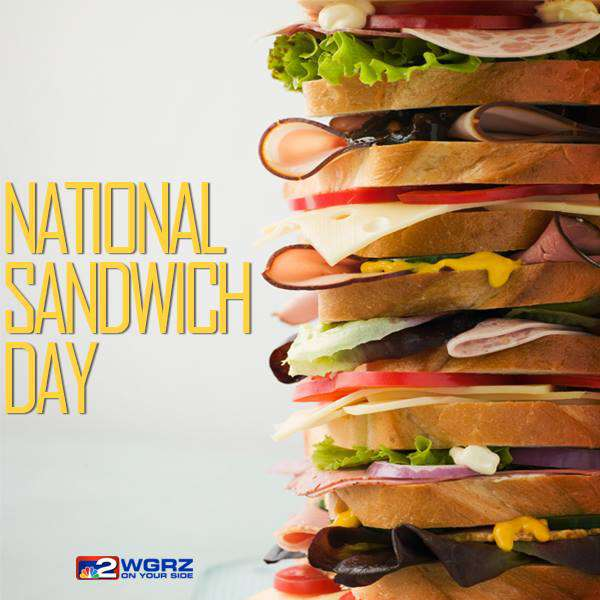 National Sandwich Day Wishes Unique Image