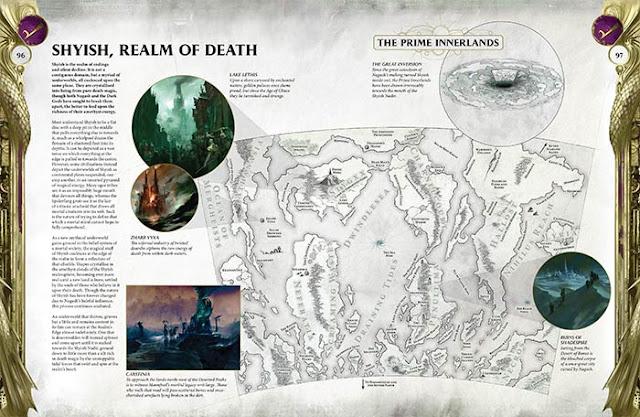 Shyish Reino de la Muerte