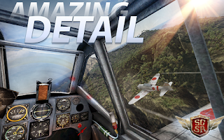 Adalah sebuah game simulasi pesawat terbang yang mengusung perang dunia dua sebagai temany Unduh Game Android Gratis Sky Gamblers Storm Raider apk + obb