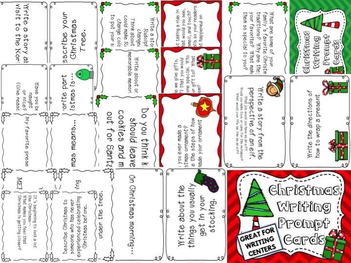 Christmas Writing Prompts.Holiday Writing Ideas Christmas Writing Prompts Teaching