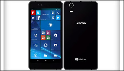 Lenovo Unviels it's first Windows 10 smartphone wih 3GB RAM - SoftBank 503LV