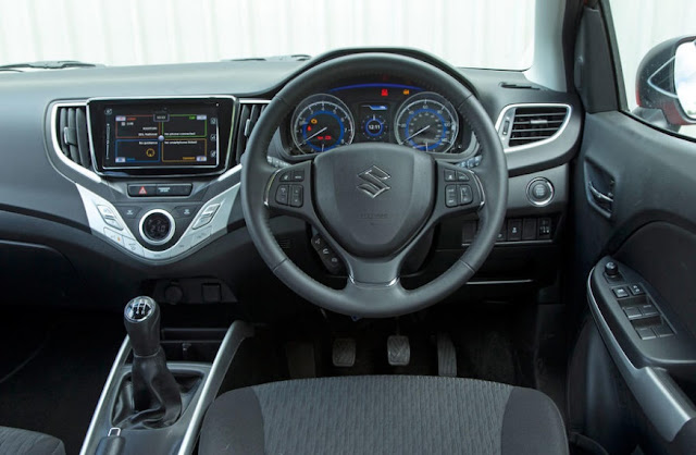 Most recent REVIEWS 2016 Suzuki Baleno INTERIOR