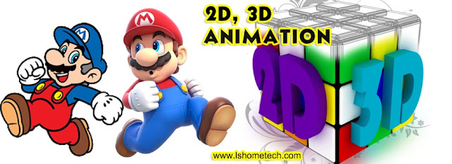 2D V/S 3D animation