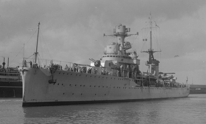 25 February 1941 worldwartwo.filminspector.com Italian cruiser Armando Diaz