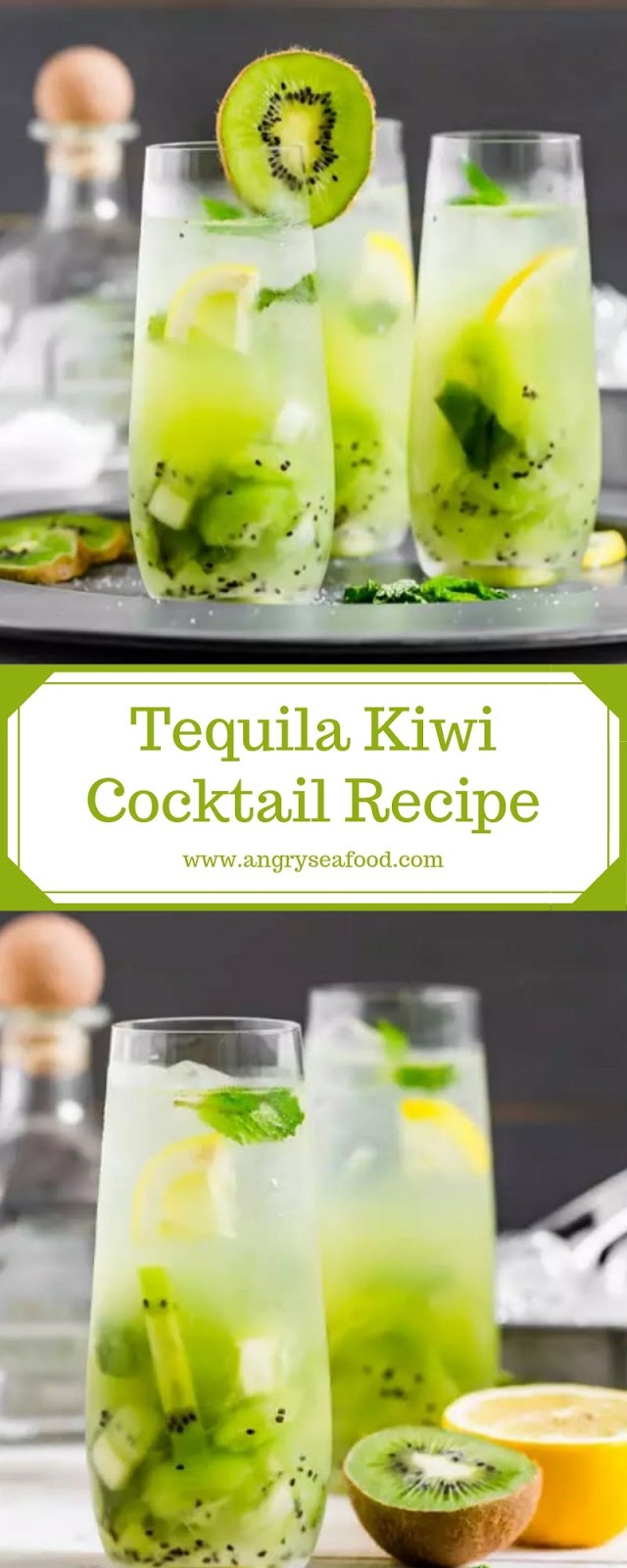 Tequila Kiwi Cocktail Recipe
