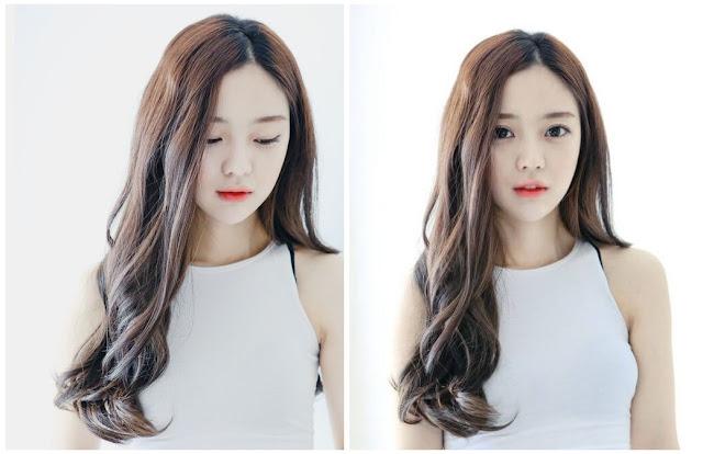 Tóc xoăn Hàn Quốc là mái tóc xoăn với lọn nhỏ giúp mái tóc dày dặn và khuôn mặt đầy đặn hơn.