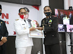 Hari Bhayangkara Ke-74 Polres Lingga Mengikuti Upacara Serentak Secara Virtual