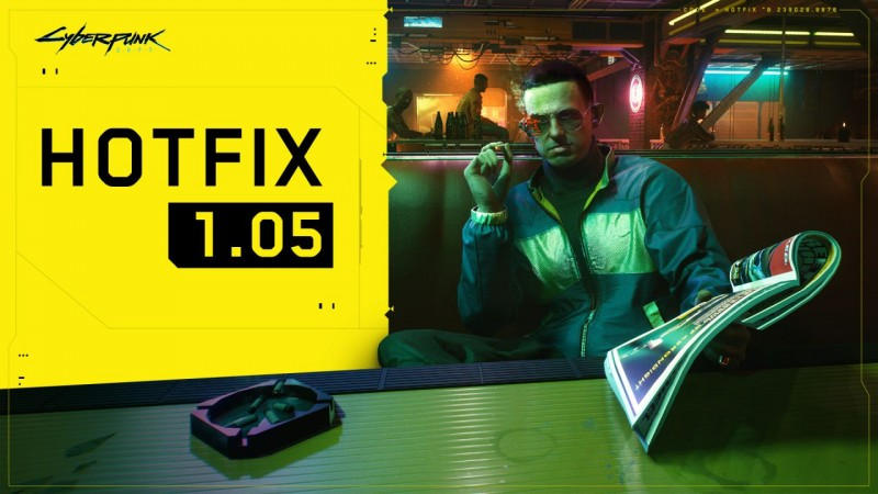 Cyberpunk 2077 Released Update 1.05 Improving Stability and Performance on AMD Processors
