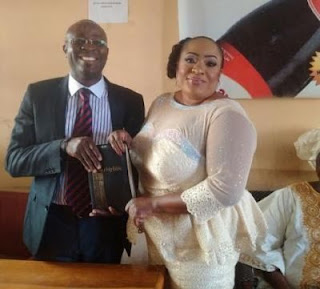 image result for foluke daramola wedding pictures