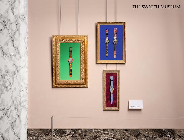 swatch louvre müzesi iş birliği swatch x louvre