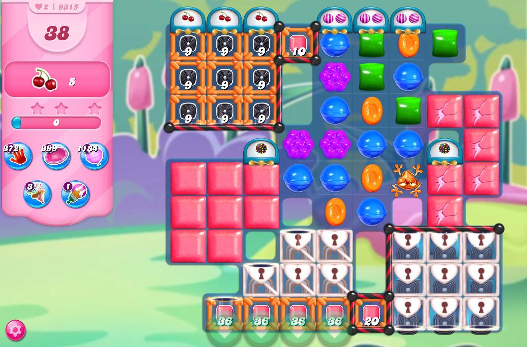 Candy Crush Saga level 9315