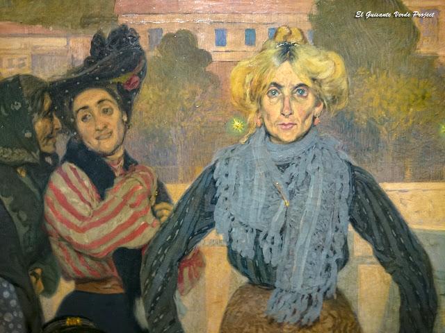 Gente (detalle) - Anselmo Guinea - Museo Bilbao por EGVP