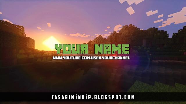 Youtube Hazır Kapak (Banner) Fotoğrafı + PSD indir #11
