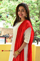 Telugu Actress Vrushali Stills in Salwar Kameez at Neelimalai Movie Pressmeet .COM 0076.JPG